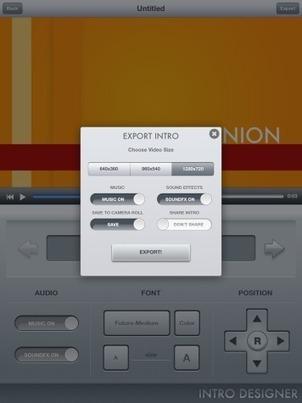 Intro Designer for iPad: Free iMovie Video Effects on iOS | iPad classroom | Scoop.it