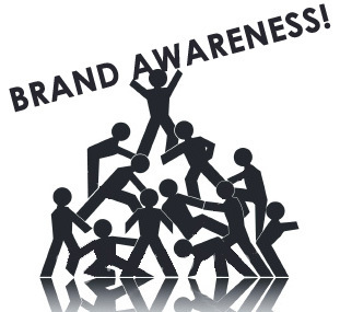 4 Sure-Fire Ways to Increase Brand Awareness | Social Sushi | My Brand | Scoop.it