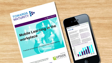 New Mobile Learning Research Report - TrainingZone.co.uk (blog)   M-Learn in Education   Scoop.it
