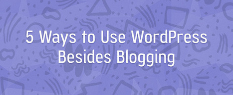 5 Ways to Use WP Besides Blogging | Internet Marketing | Scoop.it