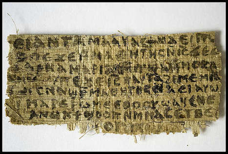 Harvard Theological Review Refuses to Pull Fake 'Jesus Had a Wife' Papyrus Story | Hodgepodge | Scoop.it