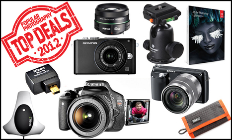 The 25 Top Camera Gear Deals of 2012 | FOTOGRAFIA Y VIDEO HDSLR PHOTOGRAPHY & VIDEO | Scoop.it