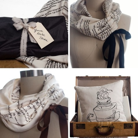Lovely Little Fawn: Storiarts - Wearble Literature   lovelylittlefawn   Scoop.it