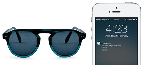Finally, Sunglasses That Ping Your Phone When You Leave Them Behind | iBeacon | Scoop.it