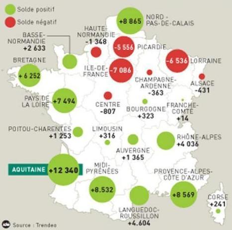 Une Aquitaine dynamique - 20minutes.fr | Centre culturel et touristique du vin - Bordeaux | Scoop.it