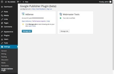 Google Launches WordPress Plugin For AdSense And Webmaster Tools | Search Engine Optimization | Scoop.it