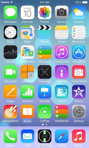 Lộ ảnh chụp màn hình IOS 8 trên iPhone 6 | iPhone Giá Rẻ - iPhone VinaPhone | Game Mobile | Scoop.it