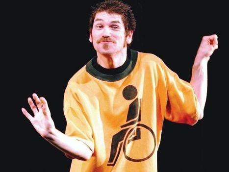 Zanza, il comico disabile e l'importanza di non essere minorati in tema di ironia | Giramente | Scoop.it