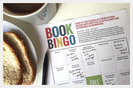 The Story – Book Bingo Shake up your reading list during... | Instruction & Curriculum (& a bit of Common Core) | Scoop.it
