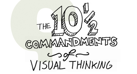 The Ten (and a half) Commandments of Visual Thinking | The Art Of | VISUAL CANDY- Sketchnotes & Visual Note Taking | Scoop.it