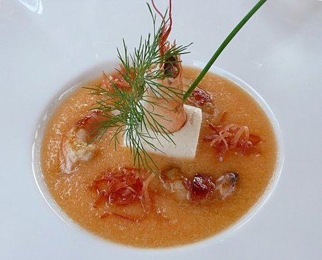 Soupe glacée de melon au Muscat de Beaumes de Venise | Accords Mets & Vins - Muscat de Beaumes de Venise | Scoop.it