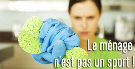 Le ménage n'est pas un sport, il pourrait même faire grossir ! | Scienceosport | Scoop.it