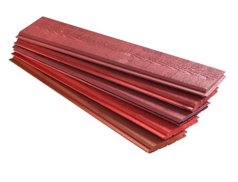 Bardage bois massif couleur VETEC : Déclinaison de rouges. | Ageka les matériaux pour la construction bois. | Scoop.it