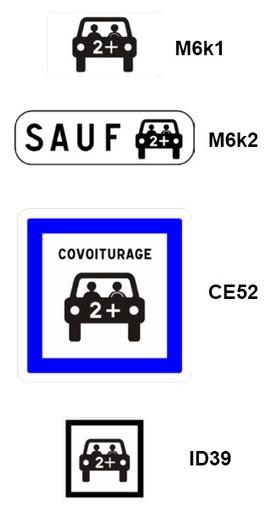 Un arrêté crée des panneaux de signalisation spécifiques au covoiturage   Prévention et Signalisation Routière   Scoop.it