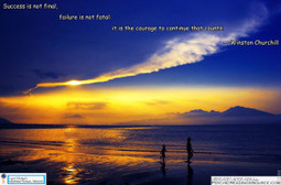 Success is not final, failure is not fatal. It is the courage to continue that counts. ― Winston Churchill   Psychic Readings Source   Scoop.it