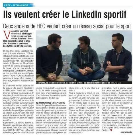 SportyMe - Timeline Photos | Facebook (4 février 2016) | Alumni HEC Liège | Scoop.it