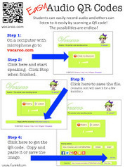 Fun in K/1: QR Codes with Audio | Digital Learning Tools | Scoop.it