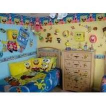 SpongeBob Squarepants Themed Bedroom Decoration Ideas | Bedroom Decorating Ideas and Bedding Ideas | Scoop.it