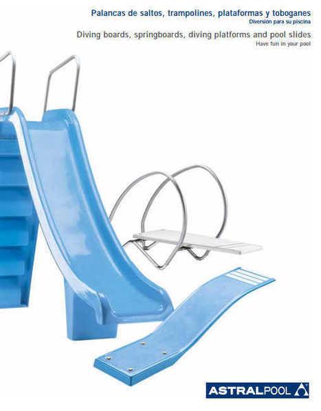 (ES) (EN) (PDF) - Palancas de saltos, trampolines, plataformas y toboganes / Diving boards, springboards, diving platforms and pool slides | poolaria.com | Glossarissimo! | Scoop.it