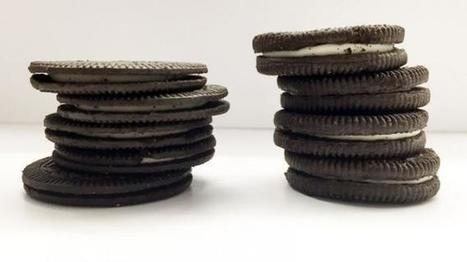 Side-By-Side Comparison of New Oreo Thins to Original | Kickin' Kickers | Scoop.it