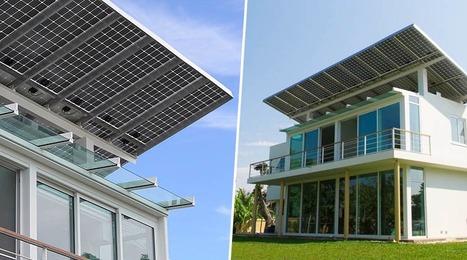 Voici la première maison solaire-hydrogène 100% autosuffisante | D'Dline 2020, vecteur du bâtiment durable | Scoop.it