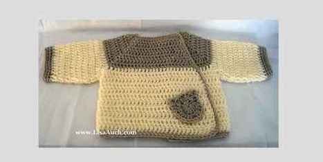 Easy Baby Cardigan Free Crochet Patterns | Crafting and Crafts | Scoop.it