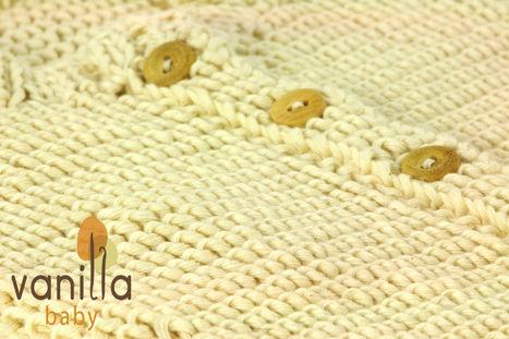 Organic Cotton Baby Cardigan in Australia | Vanilla Baby | Organic Cotton Baby Goods | Scoop.it