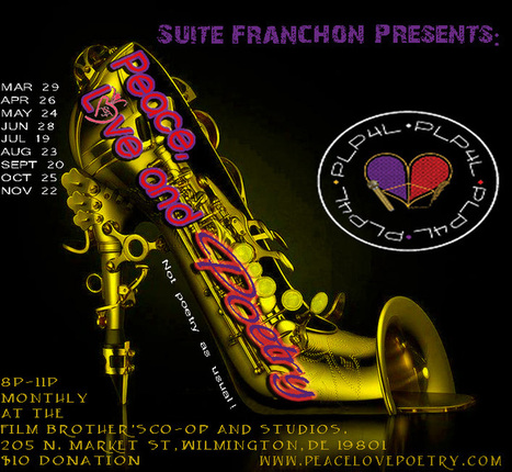 Suite Franchon presents Peace, Love & Poetry   Visual and Written Expression   Scoop.it