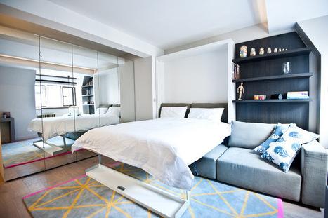 Small-Space Living: 8 Stylish Multitasking Studios | Designing Interiors | Scoop.it