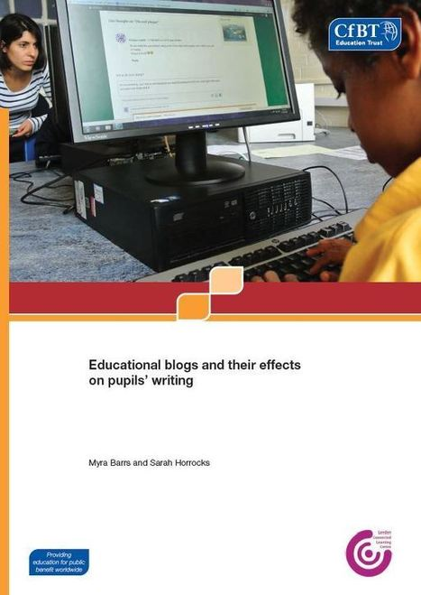 Educational blogs and their effects on pupils' writing - CfBT   Professional Learning Networks   Scoop.it