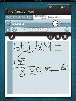 The Answer Pad: iPad Bubble Sheet | ICTeach | Scoop.it