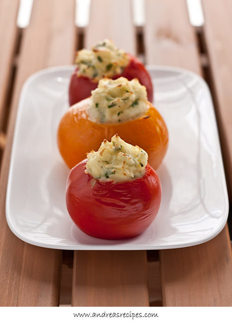 Mashed Potato-Stuffed Tomatoes Recipe | tomatoes | Scoop.it
