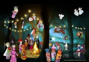 lilla a: Winter Wonderland - Kids Christmas Exhibition   billedkunst   Scoop.it