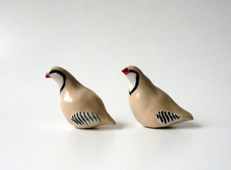 A Pair of Miniature Partridges | Etsymode | Scoop.it