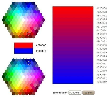HTML Color Mixer | TICE, Web 2.0, logiciels libres | Scoop.it