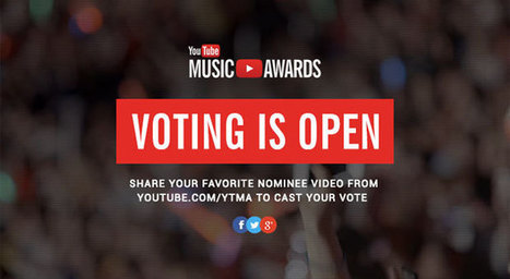 YouTube Music Awards 2013 nominees revealed, voting starts today | Music | Scoop.it