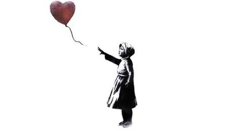 «#With Syria»: Banksy reprend sa fille au ballon rouge pour l'anniversaire du conflit syrien | Slate | #lyrique en art | Scoop.it