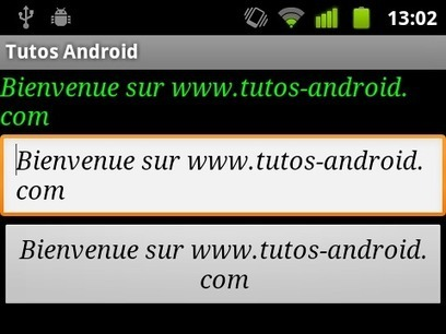Introduction aux styles sous Android | Time to Learn | Scoop.it