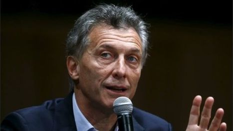 Argentina's New President Macri faces no shortage of challenges - BBC News | AP Human Geography Digital Knowledge Source | Scoop.it
