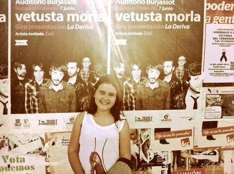 Vetusta Morla en concierto, Valencia 2014.   Lámpara de sobremesa Dina   Scoop.it