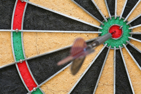 The secret to doing better at darts – and life | BehaviourWorks threads | Scoop.it