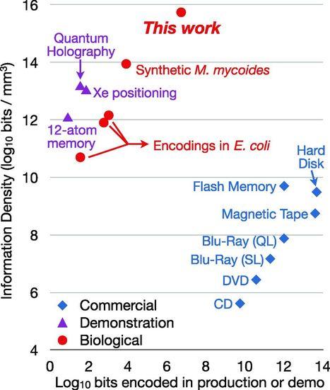 Next-Generation Digital Information Storage in DNA   GenoCon 2   Scoop.it