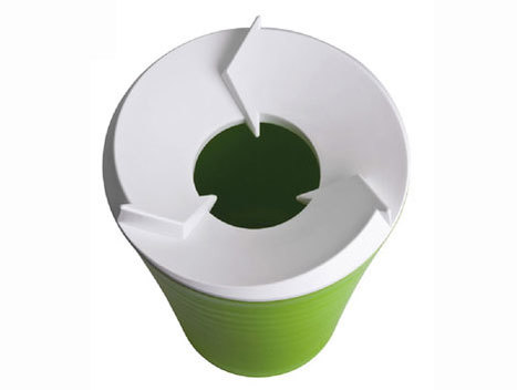 Recycling bin design with a suggestive lid | Recycling: Does It Really Matter? | Scoop.it