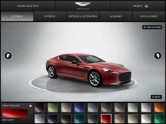 Aston Martin packs app with bespoke options | Mobile Buzz | Scoop.it