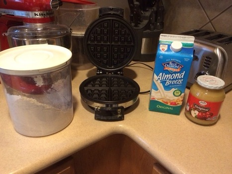 Vegan Waffle Breakfast | Nessy's Blog | My Vegan recipes | Scoop.it