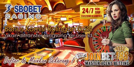 Joinbet188 Agen Casino Sbobet 338A Terpercaya | Agen Bola | Judi Online | Casino Online | Taruhan Bola | Prediksi Bola Hari Ini | Scoop.it