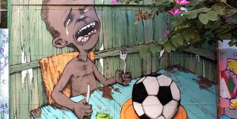 La vision du Mondial d'un street artist brésilien fait le tour du Web | Le  Brésil : des inégalités qui persistent et qui  freinent l'essor d'une BRICS | Scoop.it