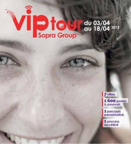 Sopra Group | Mission Handicap | Nos engagements | Stratégie marque employeur et community management RH | Scoop.it