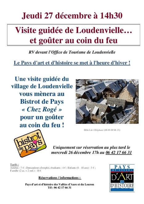 Visite hivernale à Loudenvielle le 27 décembre - patrimoine-aure-louron.fr | Vallée d'Aure - Pyrénées | Scoop.it