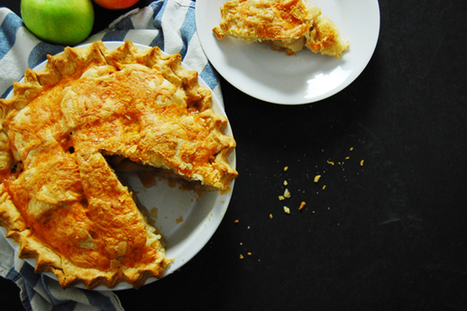 Cheddar Topped Apple Pie | Great Food | Scoop.it